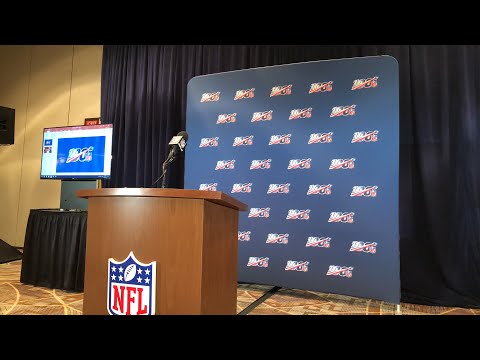 NFL Press Conference On Player Safety At Annual Meeting 2019