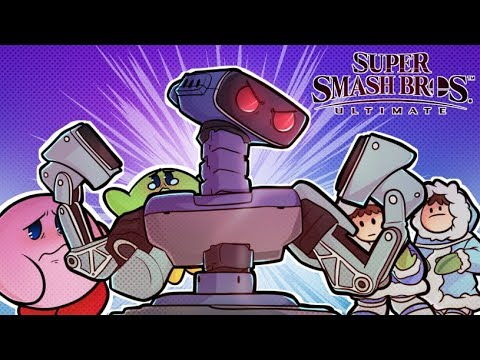 MR R.O.B.OTO CAME TO PLAY! - Super Smash Brothers Ultimate!