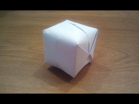 Thumbnail: How To Make a Paper Balloon (Water Bomb) - Origami