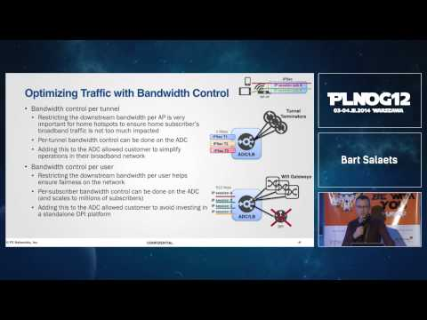 PLNOG 12: Optimizing Wifi Networks with L4-L7 consolidation - Bart Salaets (F5)