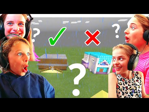 WHICH KID BUILDS THE BEST HOTEL IN MINECRAFT w/The Norris Nuts