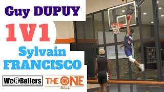 Guy Dupuy 1v1 Sylvain Francisco Part 2 at The One Ball Video