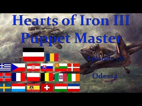 Hearts of Iron III - Puppet Master: Episode 18 - Odessa