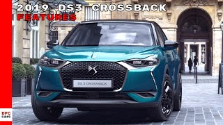 2019 DS 3 Crossback Features