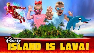The Floor is Lava on an Island! Disney Cruise Kids Vlog Day 3!