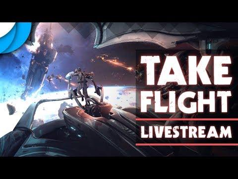 Empyrean Has Launched! Railjack Take Flight!   Warframe Livestream