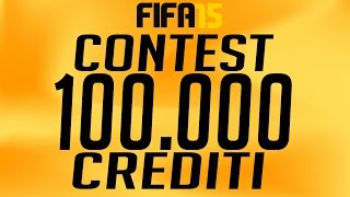 CONTEST FIFA 15 - 100.000 CREDITI