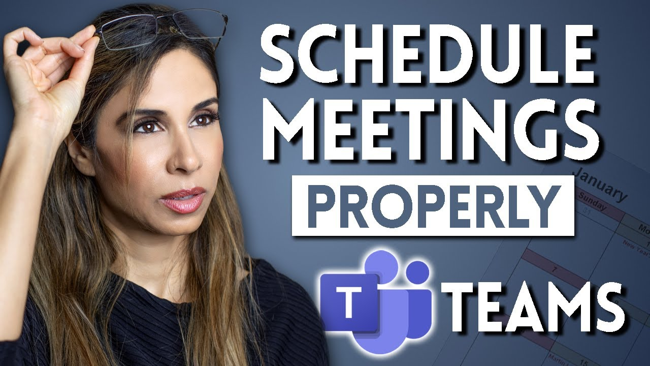 3 Ways to Schedule Meetings in Microsoft Teams | which one do you use?