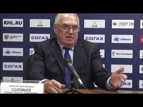 Пресс-конференция: Нефтехимик - Автомобилист (25.10.2016)