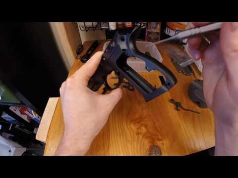 CZ 75 SP-01 - Explanation -  Polishing the  Frame and Slide