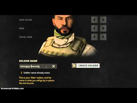 Tutorial how to create soldier of battlefield play4free
