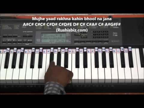 Pardesi Pardesi Tu Jana Nahin (PIANO TUTORIALS) - Raja Hindustani