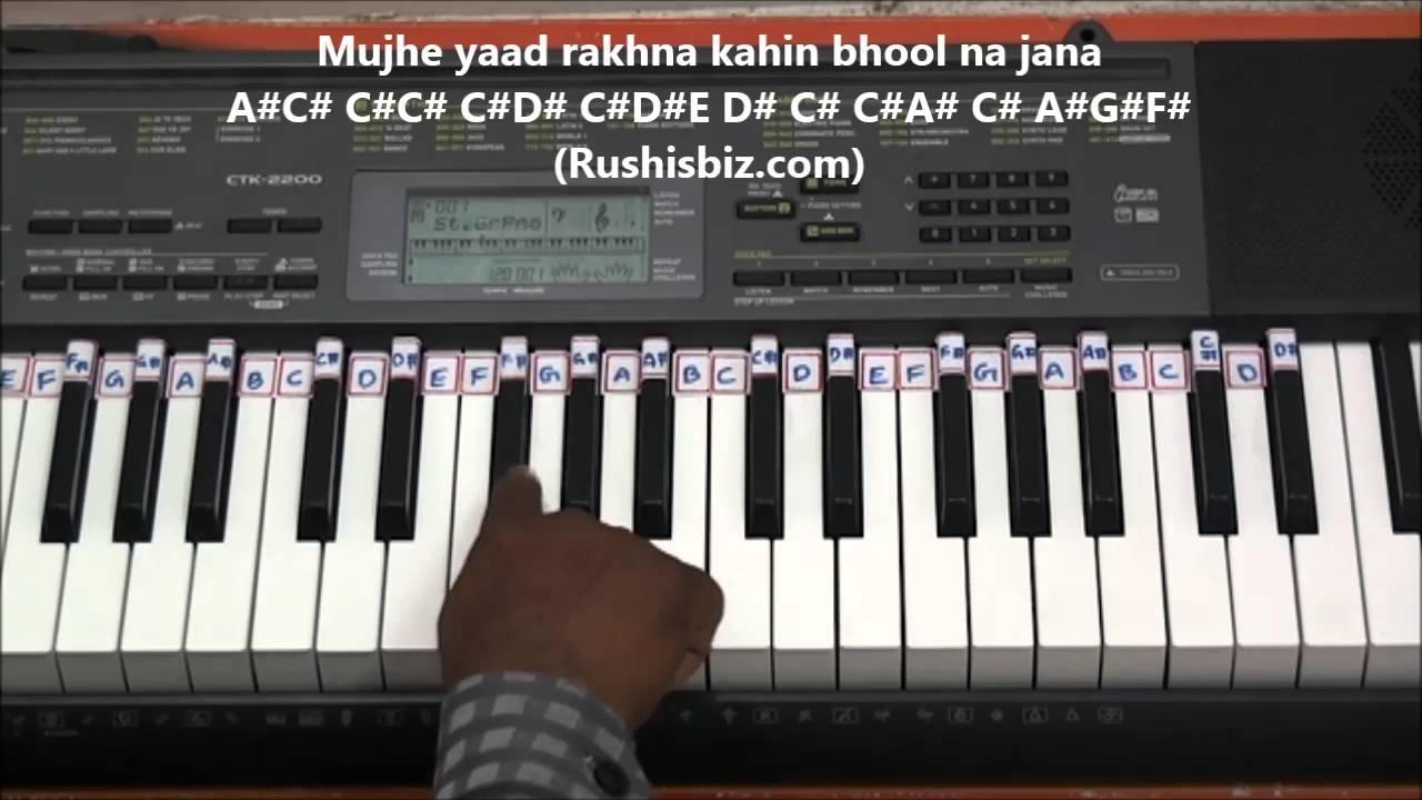 Kaadhal rojave piano tutorials roja movie (tamil) | 7013658813.