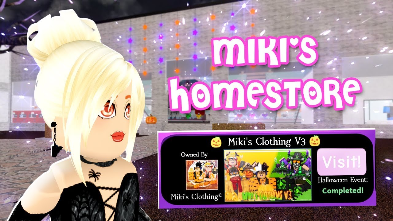 Roblox Royale High Tiger Homestore Free Robux Without Offers Miki S Homestore Royale High Halloween Candy Hunt Event By Banana Splits World