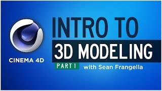 Intro To 3d Modeling In Cinema 4d, Model A 3d House, Part 1 - Sean Frangella