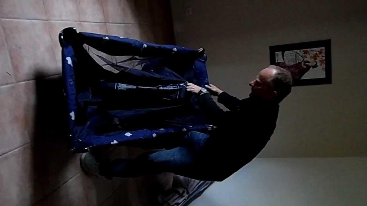 montage lit parapluie chicco1 youtube. Black Bedroom Furniture Sets. Home Design Ideas