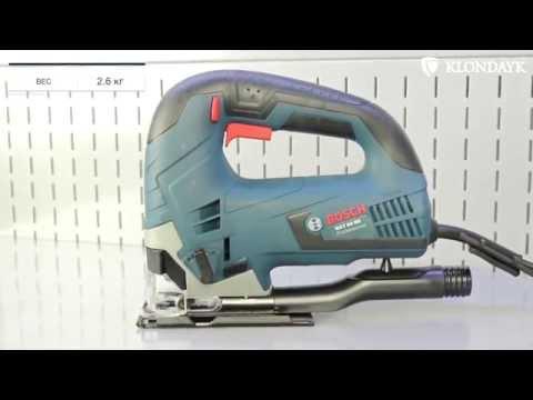 Видео обзор: Лобзик BOSCH GST 90 BE в коробке