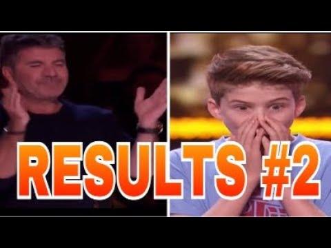 Results Quarter Finals Merrick Hanna Celine Tam  | America's Got Talent 2017 | Talent Worldwide