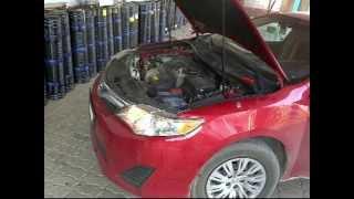 дроссельная заслонка ( Toyota camry ) чистка 2011 - 2014