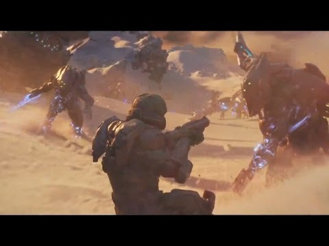 Halo 5 Intro Trailer - Halo 5 Guardians Intro Cutscene 1080 HD