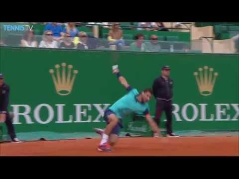 Monfils Djokovic Wawrinka Nishikori QF Highlights Toronto 2016 from YouTube · Duration:  5 minutes 1 seconds