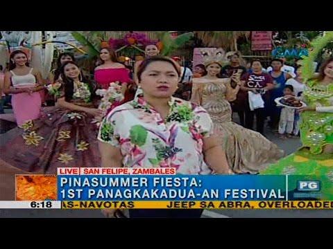 Unang Hirit: First Panagkakadua-an Festival sa Zambales