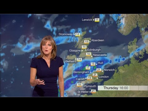 Extreme Weather 2018 - Storm Bronagh Weather Forecast (UK) - BBC News - 20th September 2018