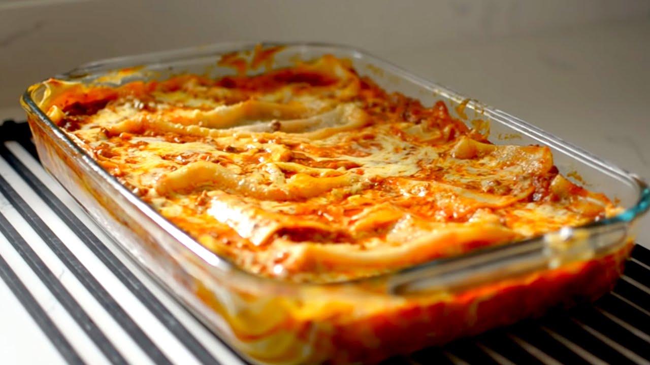 Cómo Hacer Lasaña Lasagna Receta Mejorada Muy Fácil Recién Cocinados Youtube