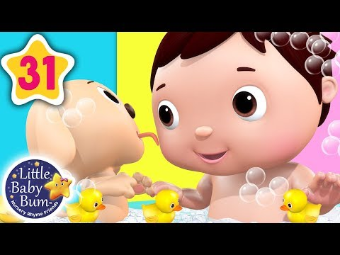 Bath Time Song | Bath Songs for Kids + More Nursery Rhymes & Kids Songs | Little Baby Bum