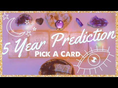 Your Life in 5 Years ⭐️Psychic Prediction⭐️PICK A CARD🔮