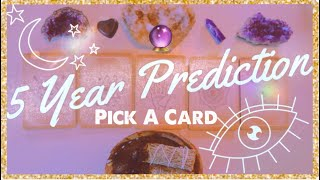 Your Life in 5 Years ⭐️Psychic Predicti...