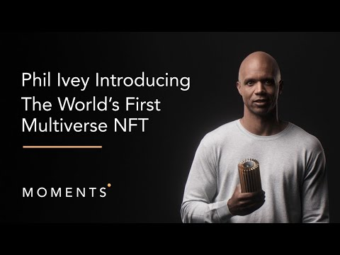 Phil Ivey and The Shoe Surgeon Launch World's First Multiverse NFT on New Moments' Marketplace