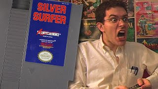 Silver Surfer (NES) - Angry Video Game Nerd (AVGN)