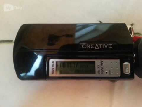 2- channel  receiver Yamaha R-N500 and  mp3 player Creative Muvo TX FM
