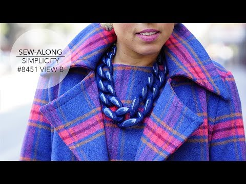 Tutorial for Mimi G Coat with Simplicity Pattern 8451