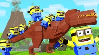 Minions Movie - The Dinosaur Boss! (Minecraft Roleplay) #1