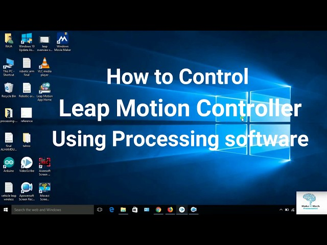 How to Program Leap motion with Arduino | Install Leap motion Library
