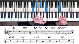Rootless Chord Voicings For Jazz Piano | PianoGroove.com
