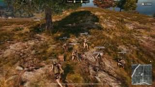 PLAYERUNKNOWN'S BATTLEGROUNDS fucking chinese squad  at solo game