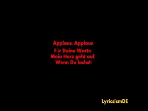 Sportfreunde Stiller - Applaus Applaus (with/mit Lyrics)