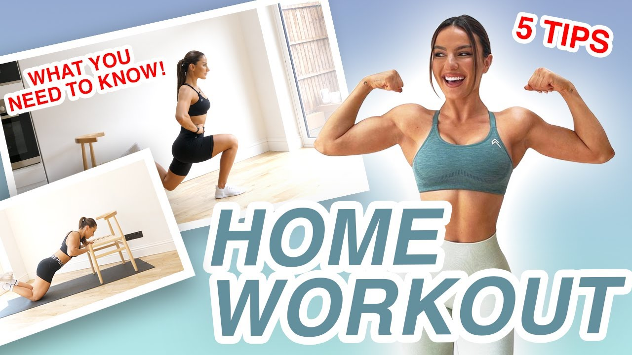 5 THINGS YOU NEED TO KNOW WHEN TRAINING AT HOME | Krissy Cela