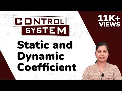 Static and Dynamic Error Coefficients - Time Response Analysis - Control Systems | Ekeeda.com