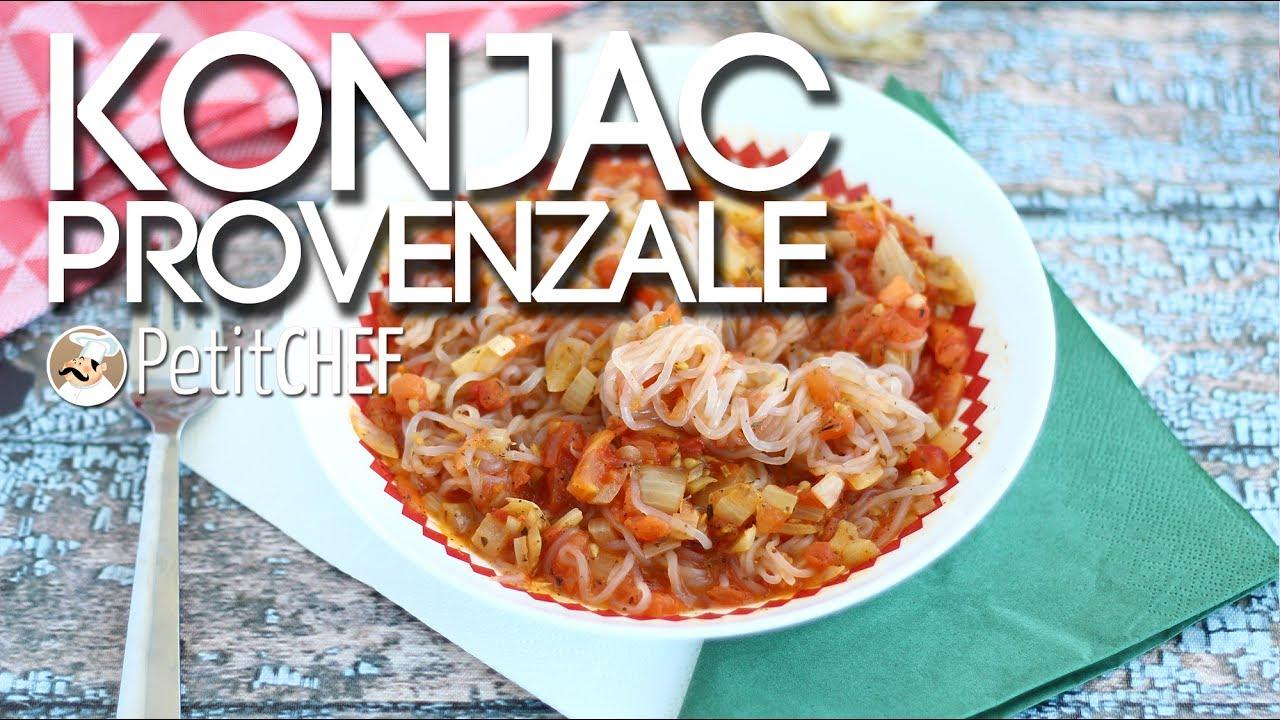 Super Spaghetti di konjac alla provenzale - Ricetta Shirataki, PettiChef  MC17