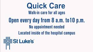 St Lukes Quick Care