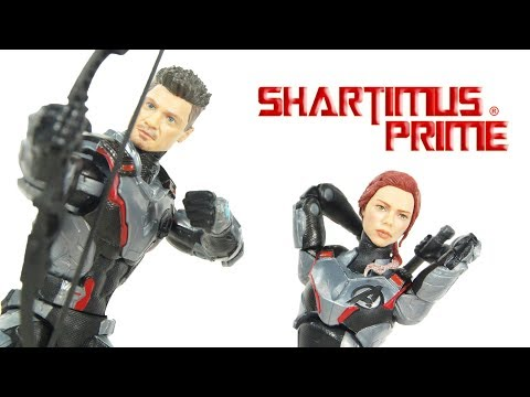 Marvel Legends Avengers Endgame Black Widow And Hawkeye 2 Pack Target Exclusive Figure Review