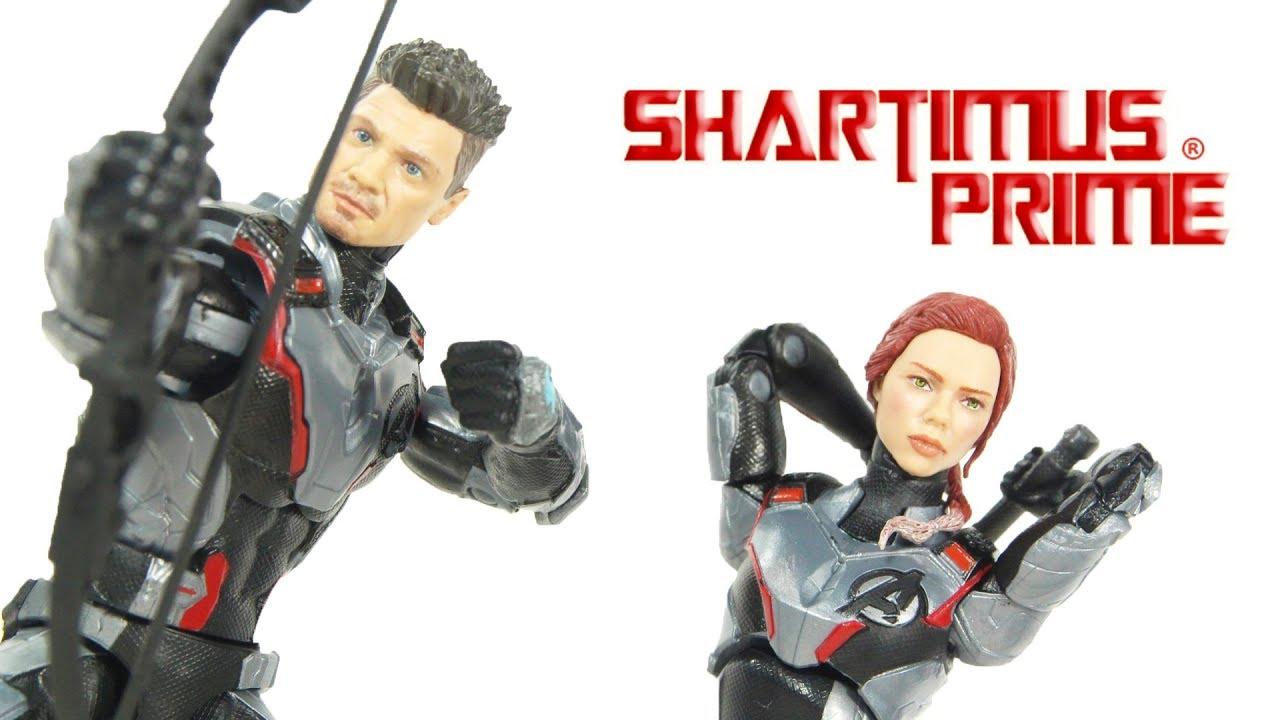 Marvel Legends Avengers Endgame 2 Pack Target Widow Hawkeye Iron Ant Man Quantum