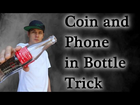 The Extended Coin And Phone In Glass Bottle Trick - Benno Six magic #21