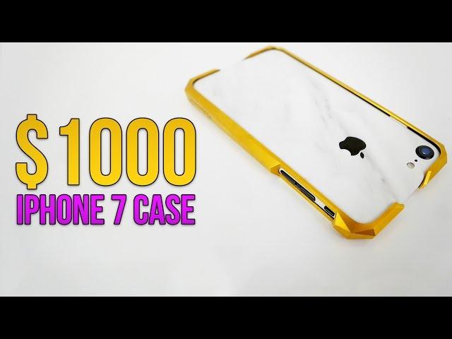 watch 62755 329d1 VIDEO: $1000 Titanium iPhone 7 Case   Advent Gold   TechSource ...