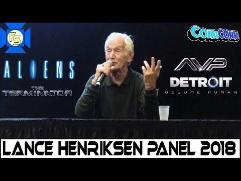 Lance Henriksen Panel  ComiCONN 2018