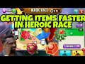 TIPS FOR GETTING ITEMS FASTER HEROIC RACE HIGH SCORE DRAGON mp3